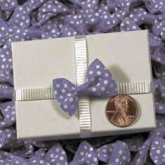 Purple Itty Bitty Bows: click to enlarge