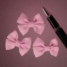 Pink Grosgrain Double Bows: click to enlarge