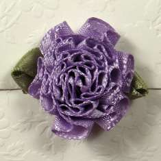 Purple Ribbon Carnations: click to enlarge