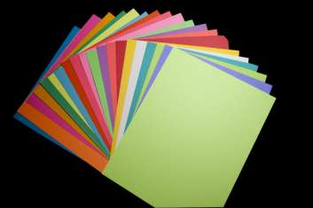 Colored Cardstock Package: click to enlarge