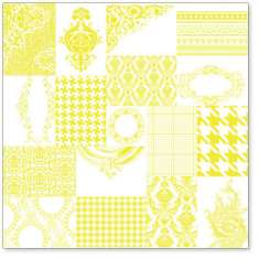 Yellow ATC Patchwork: click to enlarge