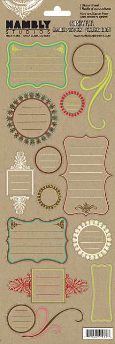 Vintage Journal Bits Kraft: click to enlarge