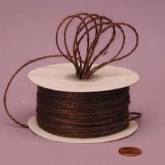 Coffee Brown Twine: click to enlarge