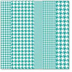 Teal Houndstooth: click to enlarge