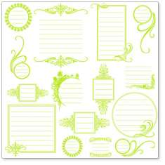 Lime Journaling Bits: click to enlarge