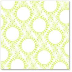 Lime Vintage Circle Wallpaper: click to enlarge