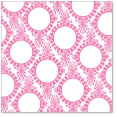 Pink Vintage Circle Wallpaper: click to enlarge