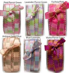 1/2 Squares & Stitches Ribbons: click to enlarge