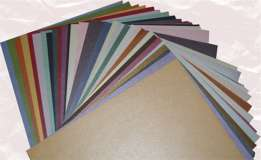 Mica/Metallic Cardstock Package